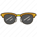 eyeglasses, eyewear, spectacles, sunglasses icon