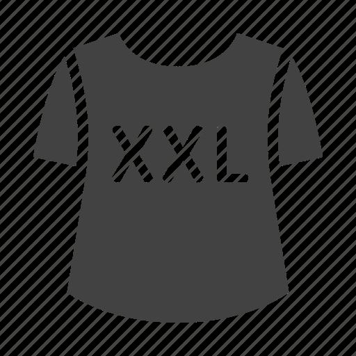 Clothes, plus, xxl, fashion, size icon