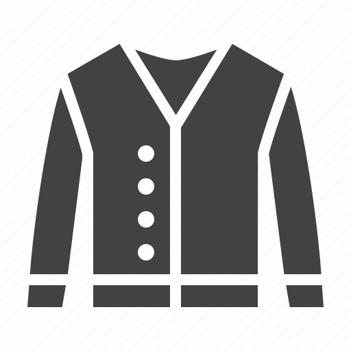 Apparel, cardigan, clothing, clothes icon