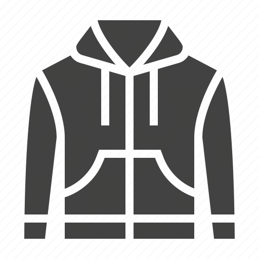 apparel, clothes, clothing, hoody icon
