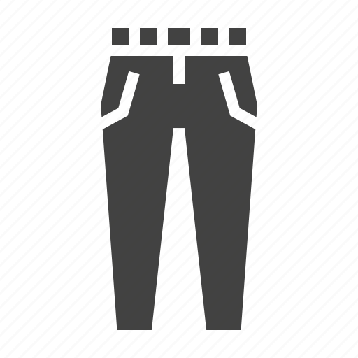 apparel, clothes, clothing, pants icon