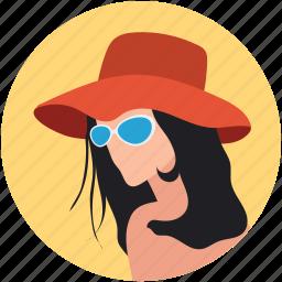 avatar, character fashion, face fashion, fashion girl, female, girl hat fashion icon