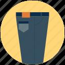 casual pant, clothing, dress, dress pant, fashion pant, formal trouser, men's pant icon