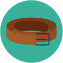 belt, casual belt, pant belt, waist belt, waistband icon