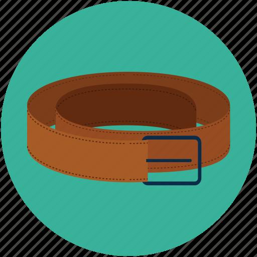 belt, casual belt, pant belt, waist belt, waistband icon