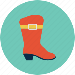 boot, female boot, lady boot, long boot, woman boot icon
