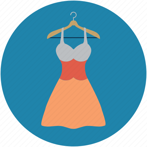 blouse, cloth hanger, clothing, dress on hanger, fashion, hanger, lady dress on hanger icon