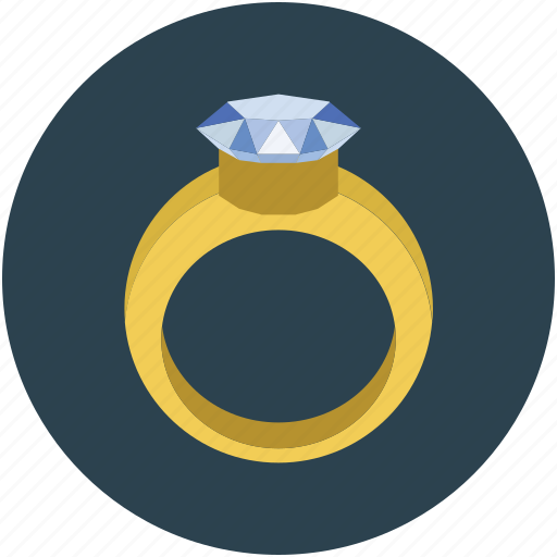 diamond ring, gold ring, jewelry, lady ring, ring, ring with stone, wedding ring icon