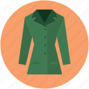 blazer, clothing, dress, fashion, lady blazer, lady blazer jacket, lady coat icon