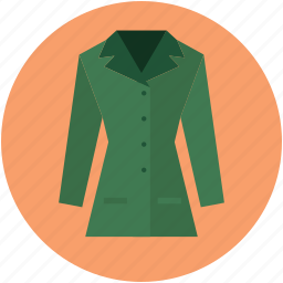 blazer, clothing, dress, fashion, lady blazer, lady blazer jacket, lady coat icon