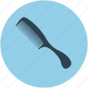beauty, brush, comb, comb hair, fashion, hair, lady comb icon