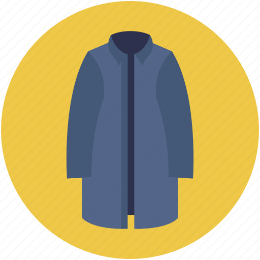 clothing, coat, dress, fashion, man coat, man dress, man trench coat icon