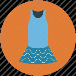 dress, fashion, girls dress, lady shirt, peplum, skirt icon