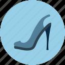 fashion shoes, heel, heel sandal, lady heel sandal, lady shoes, stiletto heel sandal icon