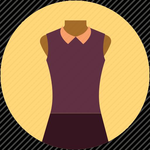fashion, lady dress, lady office wear, lady shirt, lady suit, lady wear icon