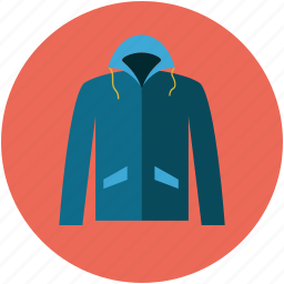 hood, hooded sweatshirt, hoodie, jacket hood, muff hood, sweatshirt icon