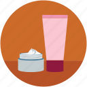beauty cream, conditioner, conditioner bottle, hair conditioner, hair gel, makeup cream bottle, tonic icon