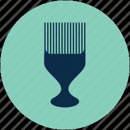 comb, scalp massage brush, scalp massage comb, scalp massage tool icon