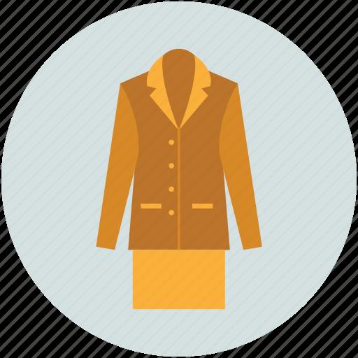 lady coat, lady overcoat, outerwear coats, overcoat, parka, topcoats, trench coat icon
