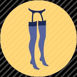 fashion dress, lady socks, long socks, long socks for lady, socks icon