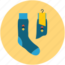fashion, fashion sock, footwear, socks icon