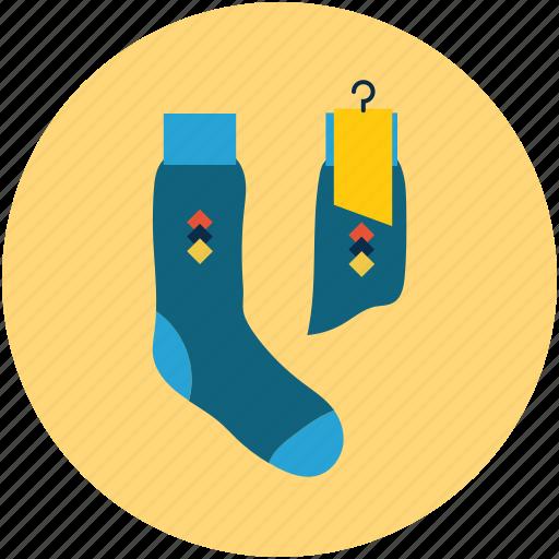 fashion, fashion sock, footwear, socks icon