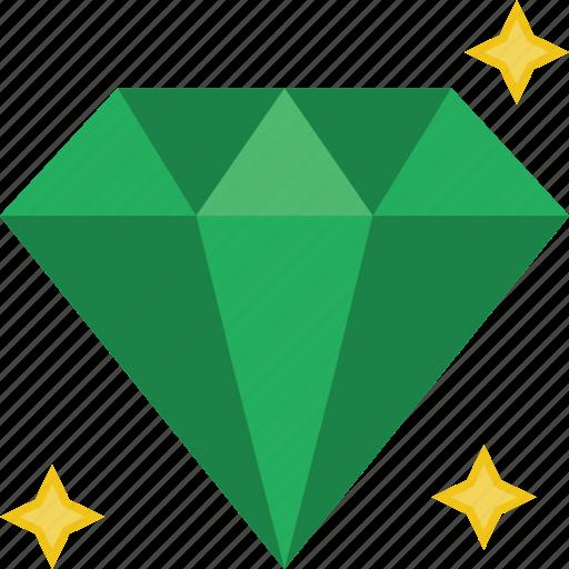 Diamond, fashion, jewelry, accessorize, accessory icon