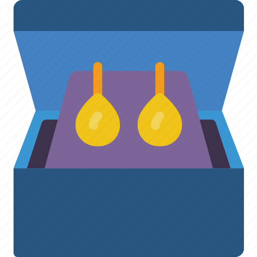 Accessorize, accessory, box, earing, fashion, jewelry icon - Download on Iconfinder