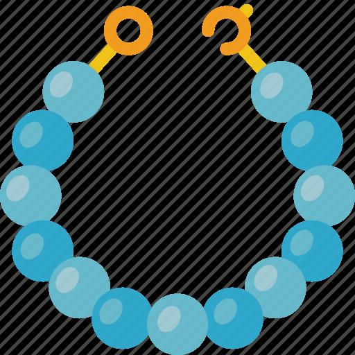 accessorize, accessory, fashion, jewelry, necklace, pearl icon