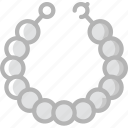 accessorize, accessory, fashion, jewelry, necklace, pearl icon