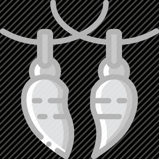 accessorize, accessory, connecting, fashion, jewelry, necklace icon