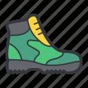 green, boot