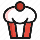 bakery, cake, fast food, kitchen, restaurant, sugar, sweet icon