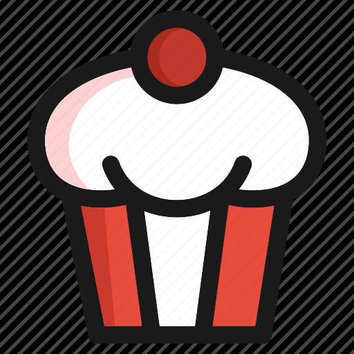 bakery, cake, fast food, kitchen, restaurant, sugar, sweet icon