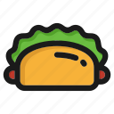 cooking, fastfood, hamburger, kitchen, meal, restaurant, sandwich icon