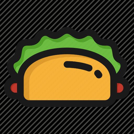 cooking, fastfood, hamburger, kitchen, meal, restaurant, sandwich icon
