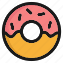candy, donut, fast food, fastfood, juknfood, sugar, sweet icon