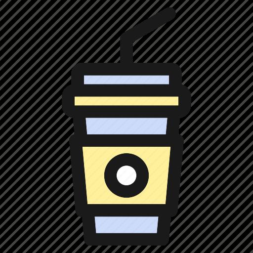 cola, cup, drink, fastfood, food, hamburger, tea icon