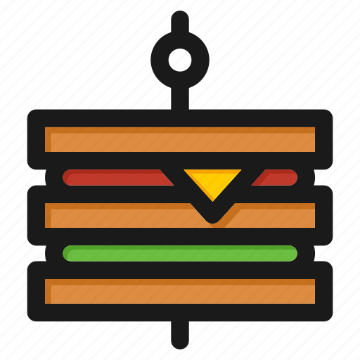 cooking, fast, fastfood, hamburger, meal, restaurant, sandwich icon