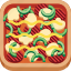 beef, cheese, fast food, meat, mushroom, pizza, sauce icon