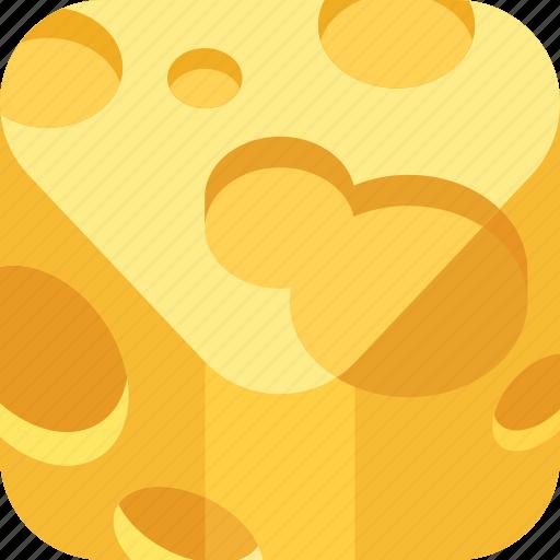 cheese, food, milk icon