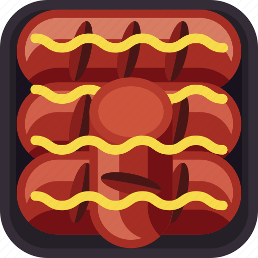 beef, fast food, meat, sausage, spicy icon