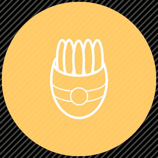 fast food, food, french fries, potato, street food icon