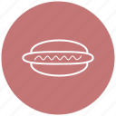 fast food, food, hotdog, sausage, street food icon