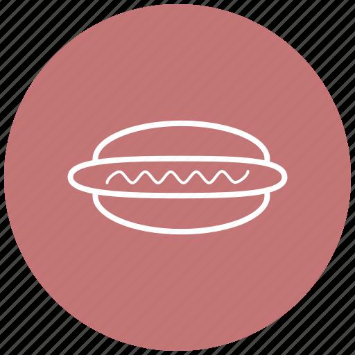 fast food, food, hotdog, sausage, street food icon
