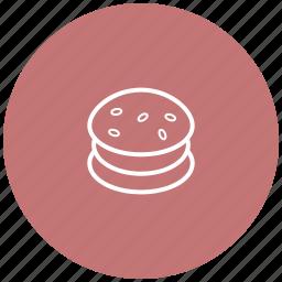 burger, fast food, food, street food icon
