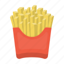 cafe, cooking, fast food, food, french fries, restaurant icon