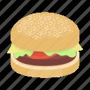burger, cafe, cooking, fast food, food, hamburger, restaurant icon