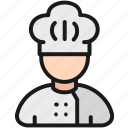avatar, chef, cook, cooking, profession icon