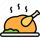 chicken, cooking, fall, food, turkey icon